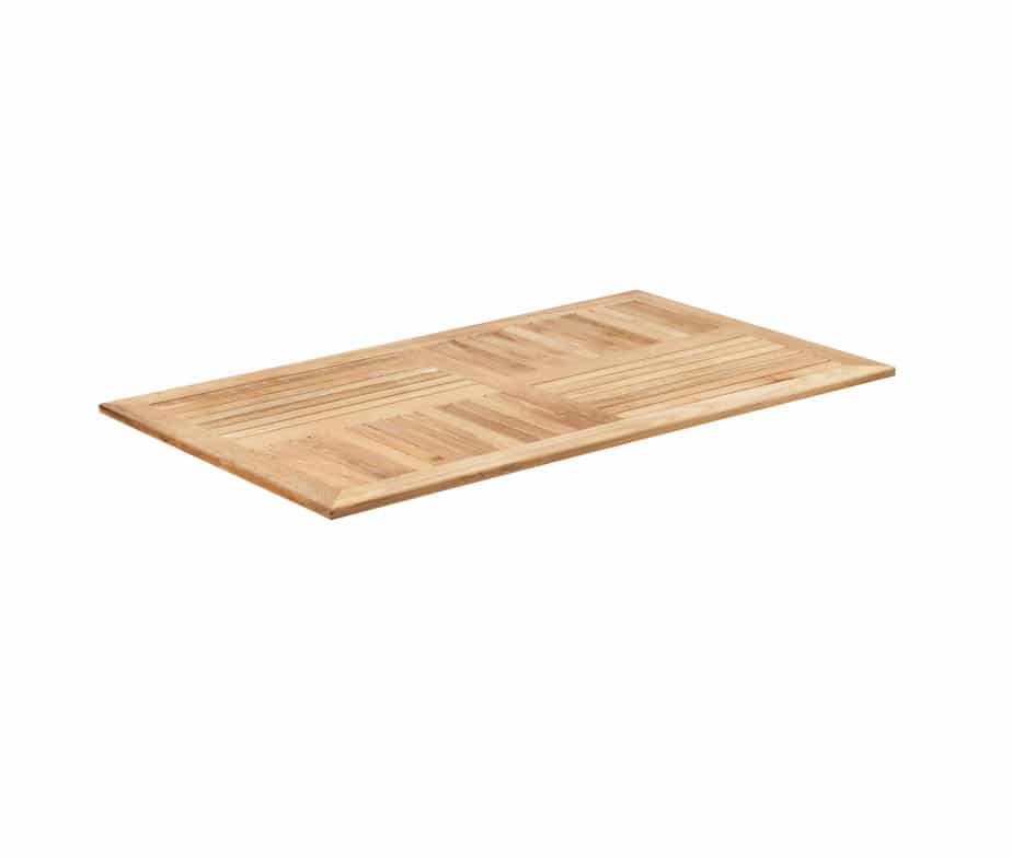 Genuine Teak Hardwood Table Tops Ideal For Outdoor Cafes