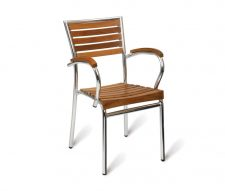 William Outdoor Armchairs Teak