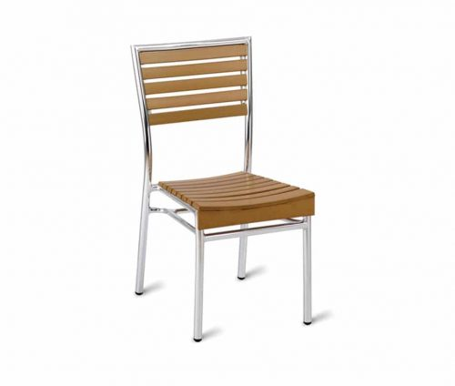 William Outdoor Sidechairs Ezicare Teak