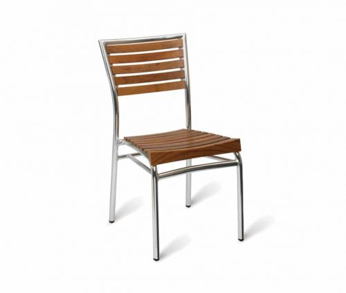 William Outdoor Sidechairs Teak