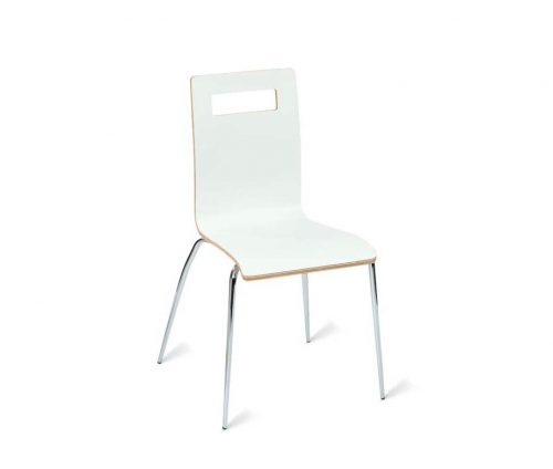 Window Cafe Style Chairs White