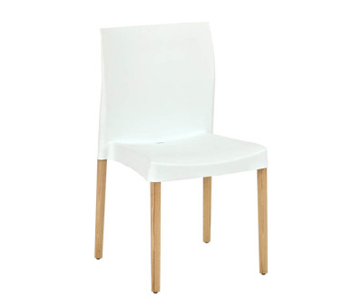Brisbane Cafe Chairs White