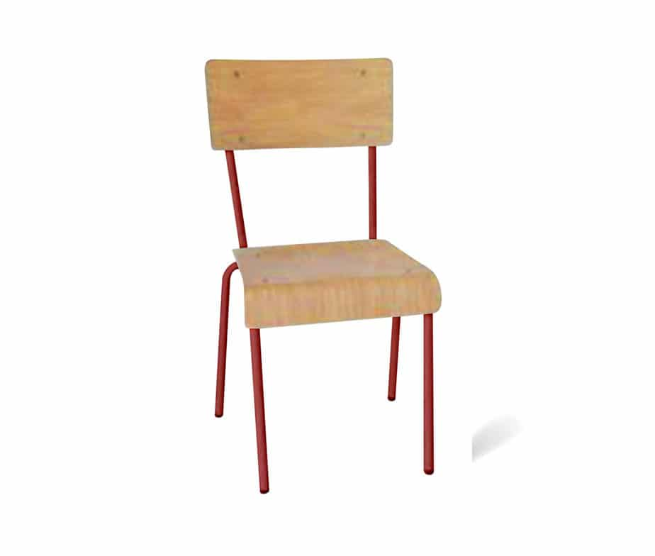 School Chairs Vintage Retro Design Suitable For Cafes