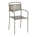 Toulouse Outdoor Metal Armchair