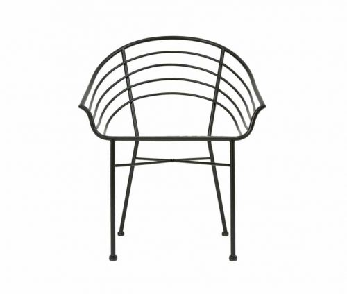 Ripple Outdoor Metal Armchairs