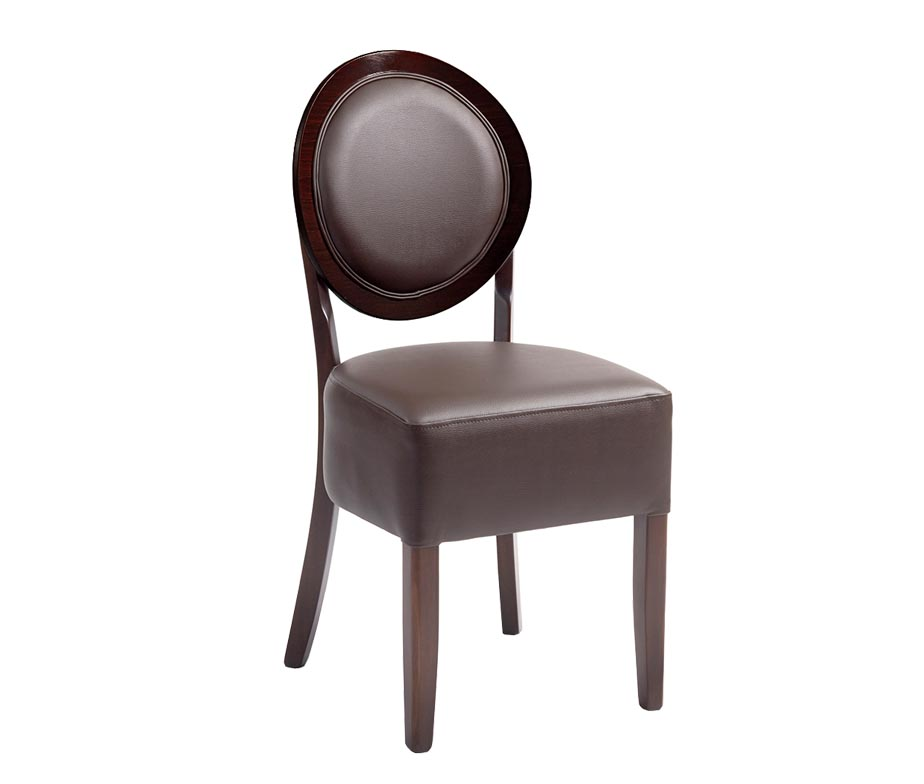 faux leather restaurant dining chairs. ashbourne brown faux leather dining chairs restaurant