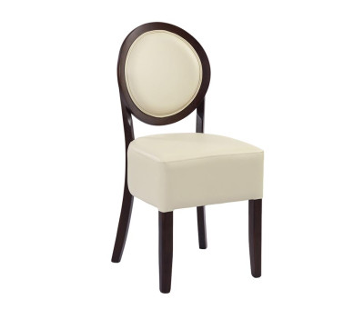Ashbourne Cream Faux Leather Dining Chairs