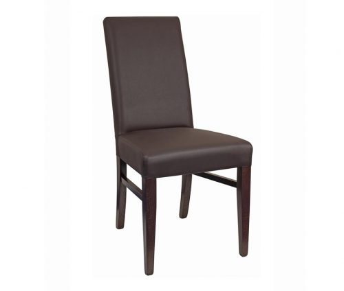 Epsom High Back Restaurant Chairs Brown