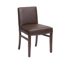 Furnhill Low Back Dining Chairs Brown