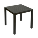 Melbourne Black Outdoor Tables Square