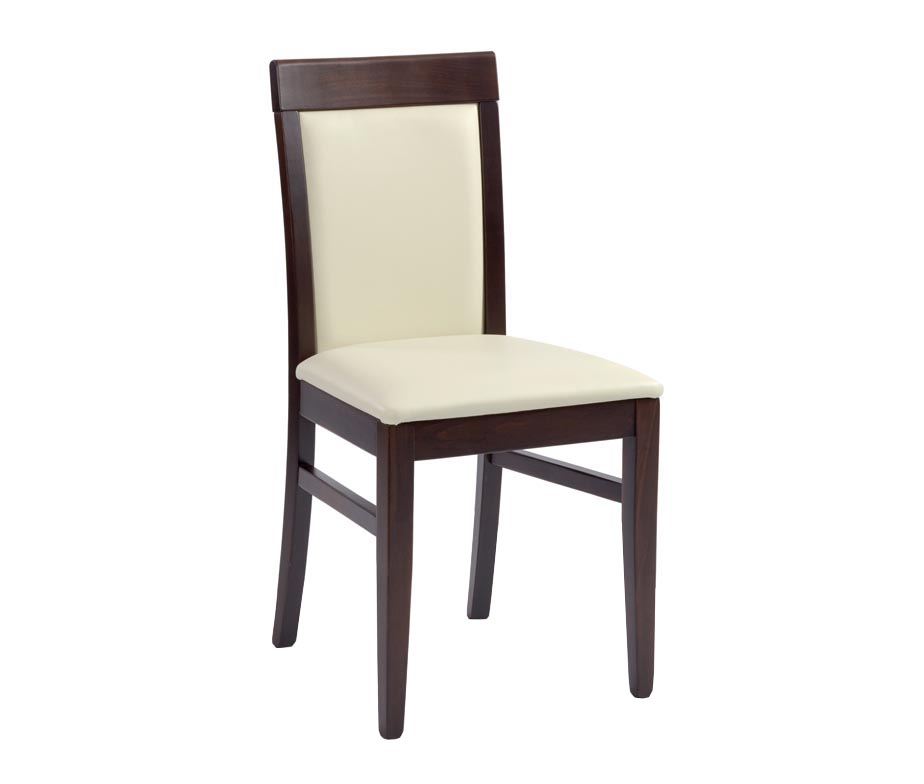 Moreton premium restaurant dining chairs in cream and brown for Restaurant furniture