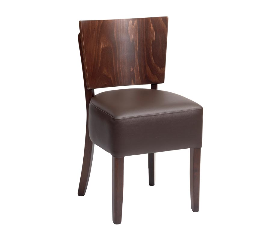 Oakham Dining Chairs For Restaurants Cafes And Bars Upholstered Seat - Modern restaurant furniture