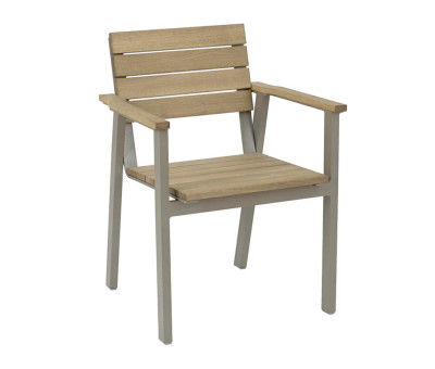 Pier Chunky Distressed Outdoor Armchair