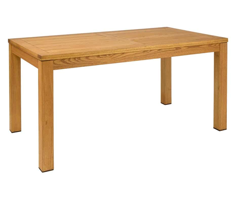 Quad Large Wooden Table Oiled Finish