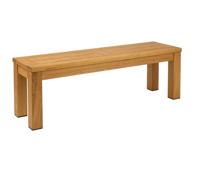 Quad Chunky Rustic Outdoor Bench