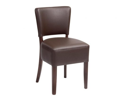 Trent Dining Chair Walnut Mocha