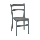 Victoria Plastic Stacking Chairs Grey