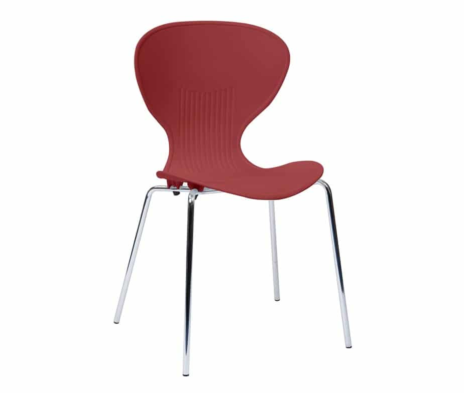 Activ Cafe Chairs Burgundy