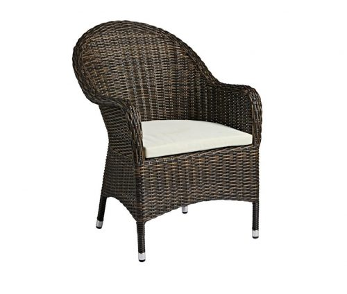 Al Fresco Rattan Dining Chair With Cushion
