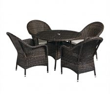 Al Fresco Rattan Dining Set