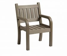 Alexander Outdoor Armchairs Grey
