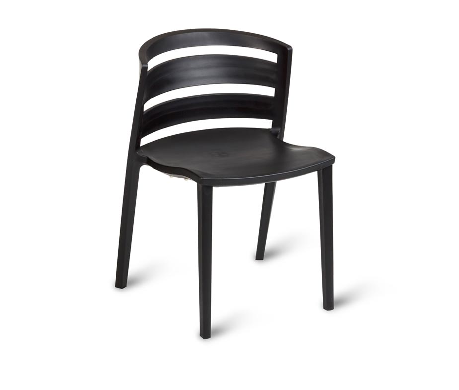 Anna Cafe Side Chair Available In Black White Red Or Brown