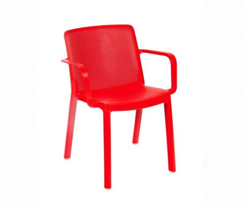 Arizona Outdoor Armchairs Red