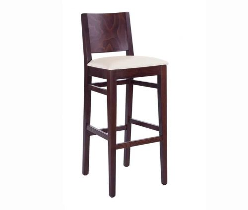 Aurora Bar Stool Walnut