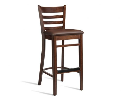 Baralla Bar Stool Walnut