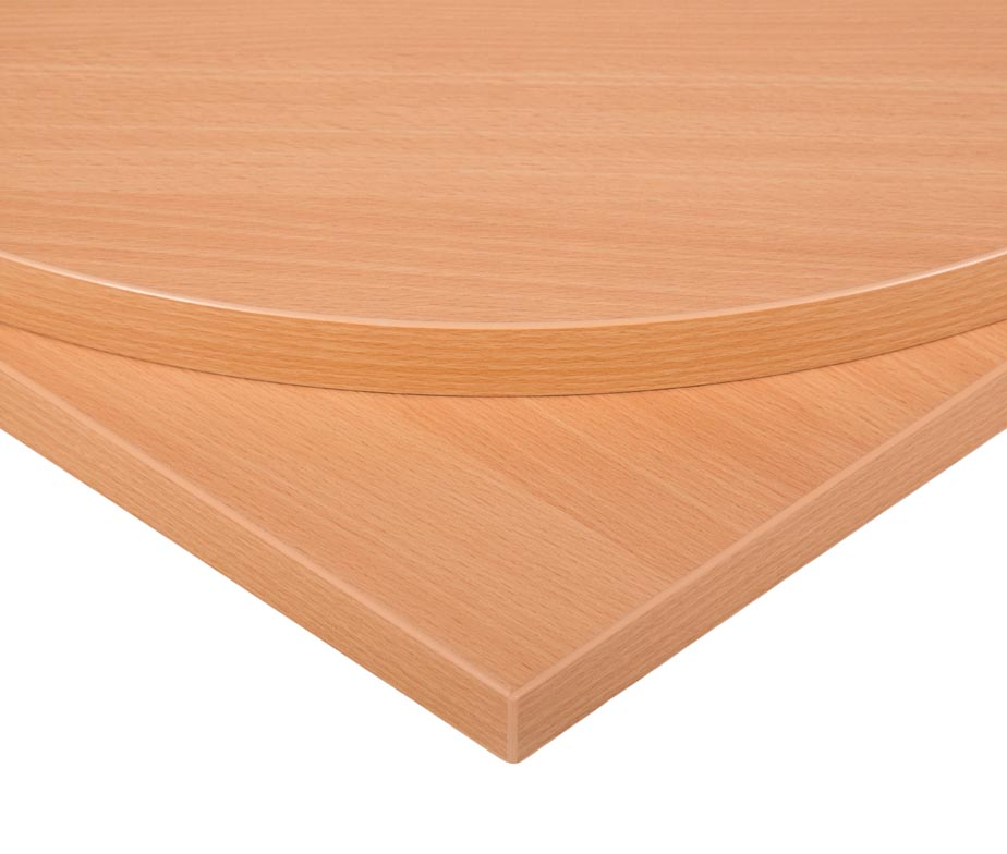 Beech MFC Commercial Table Tops