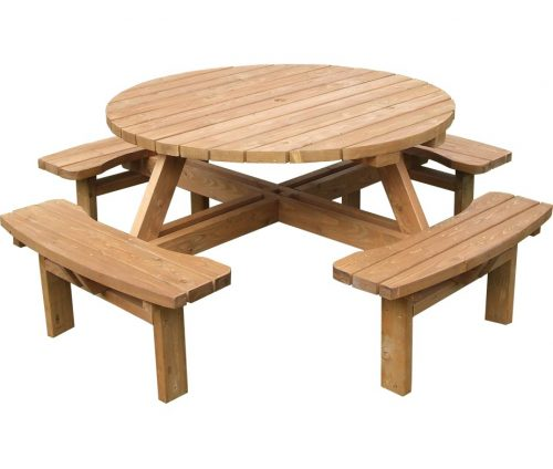 Beer Garden Table