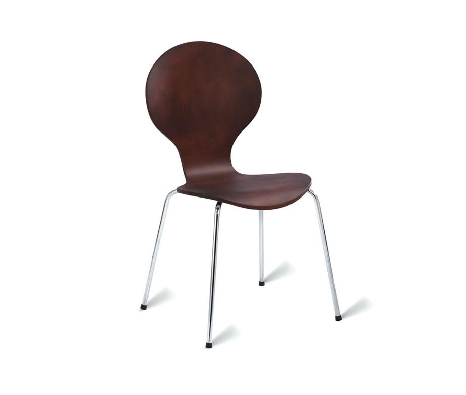 Bow Cafe Chairs Wenge
