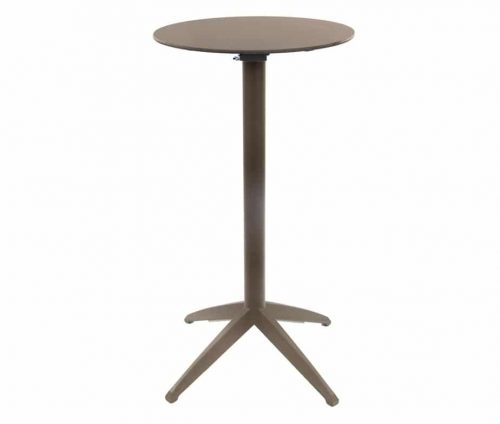 Braga Complete Flip Top Poseur Table Taupe