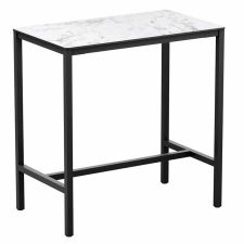 Carrara Rectangular Outdoor Poseur Tables