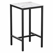 Carrara Square Outdoor Posuer Tables