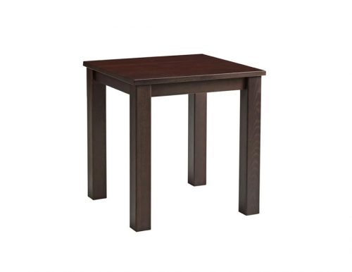Chunky Square Dining Tables Dark Walnut