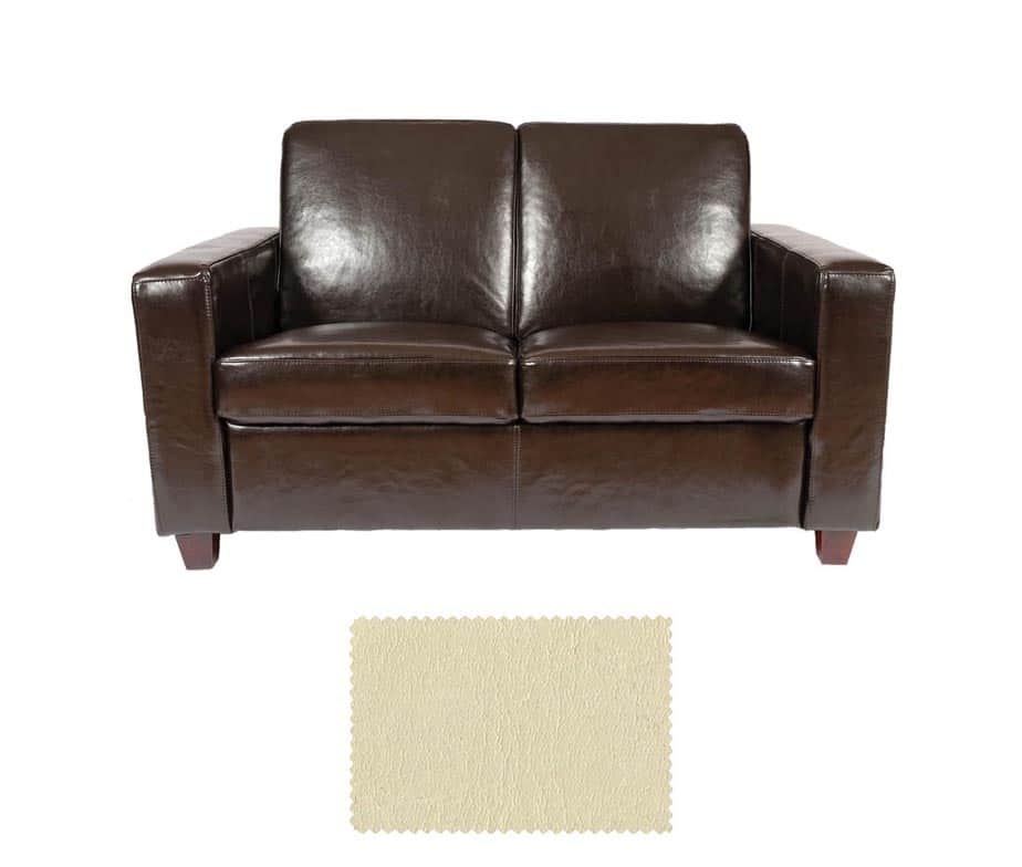 Terrific Classic Leather 2 Seater Sofa Download Free Architecture Designs Salvmadebymaigaardcom