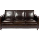 Classic 3 Seater Leather Sofa