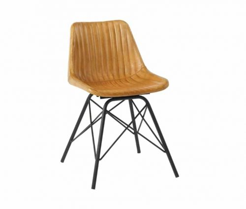 Classic Leather Dining Chair