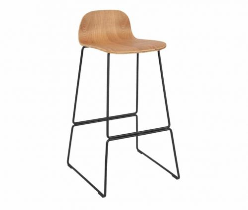 Copenhagen Bar Stool Natural