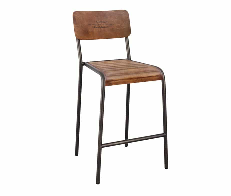 Fantastic Crusoe Vintage Bar Stools Caraccident5 Cool Chair Designs And Ideas Caraccident5Info