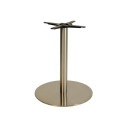 Danilo Large Stainless Steel Round Dining Tables