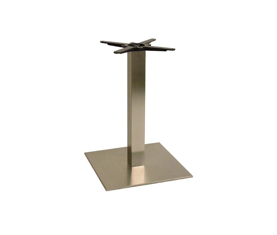Danilo Large Square Dining Table Base for Restaurants