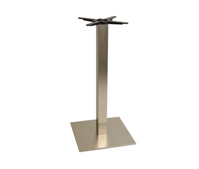 Danilo Large Stainless Steel Square Poseur Tables