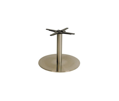 Danilo Large Stainless Steel Round Coffee Tables