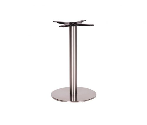 Danilo Medium Stainless Steel Round Dining Tables