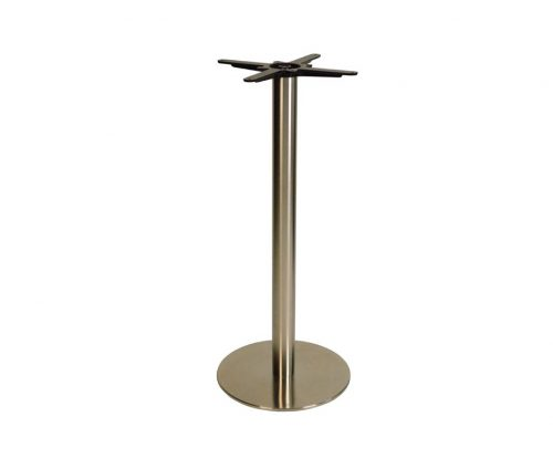 Danilo Medium Stainless Steel Round Poseur Tables