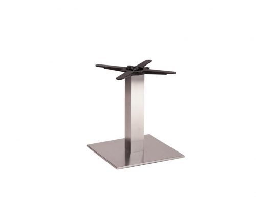 Danilo Medium Stainless Steel Square Coffee Tables