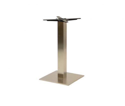 Danilo Medium Stainless Steel Square Dining Tables