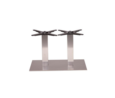 Danilo Twin Ped Stainless Coffee Tables